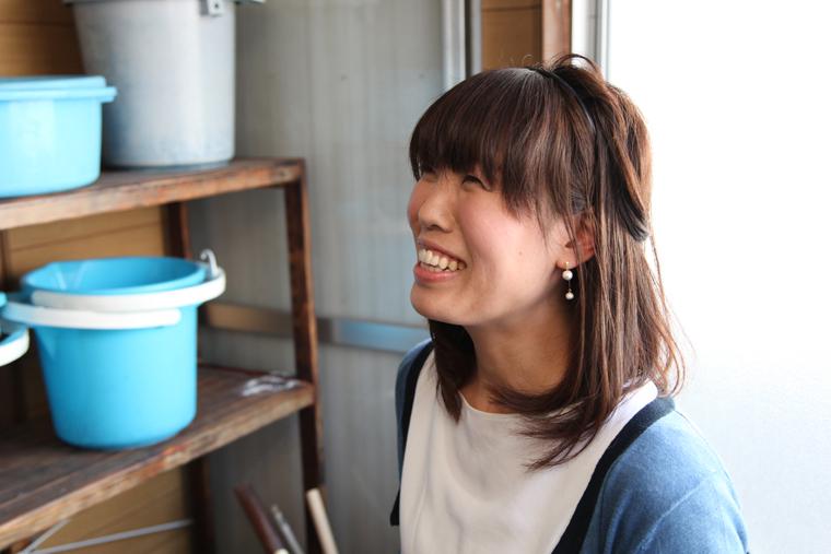 もっとたくさんの商品を海外に紹介したいと話す藤村さん