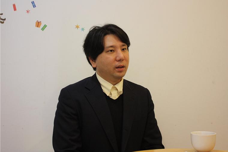 代表理事の小山さん