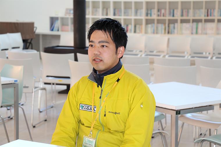 日本盲導犬総合センター 普及推進部 池田さん