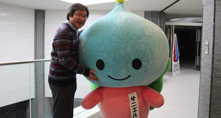 講師の榊原さんとサニエル