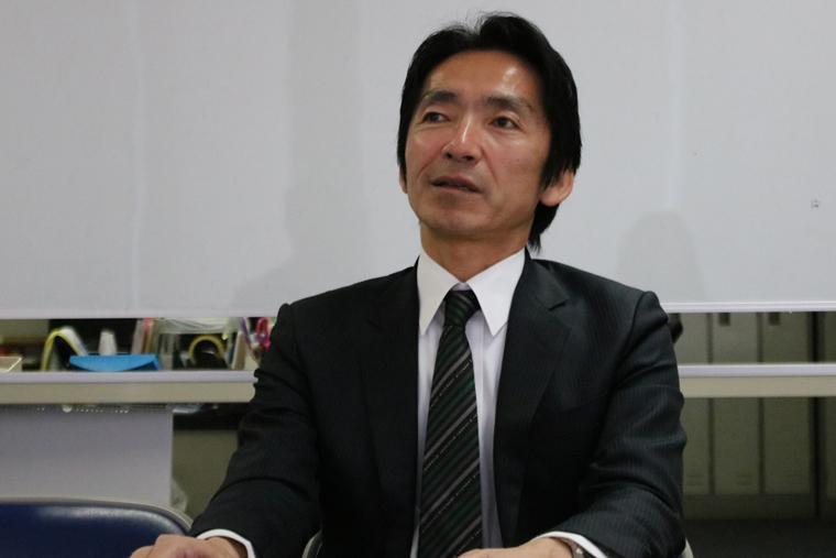 NPO法人 小杉駅周辺エリアマネジメント 理事長を務める安藤さん