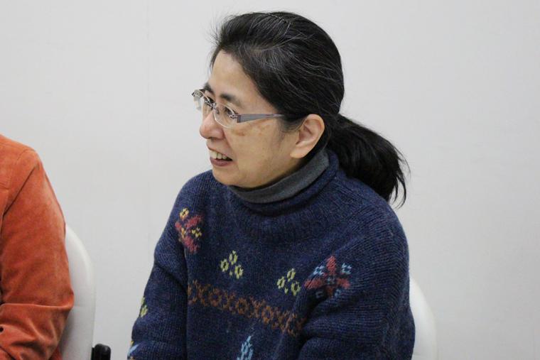 NPO法人 エコメッセ 事務局長の西田さん。