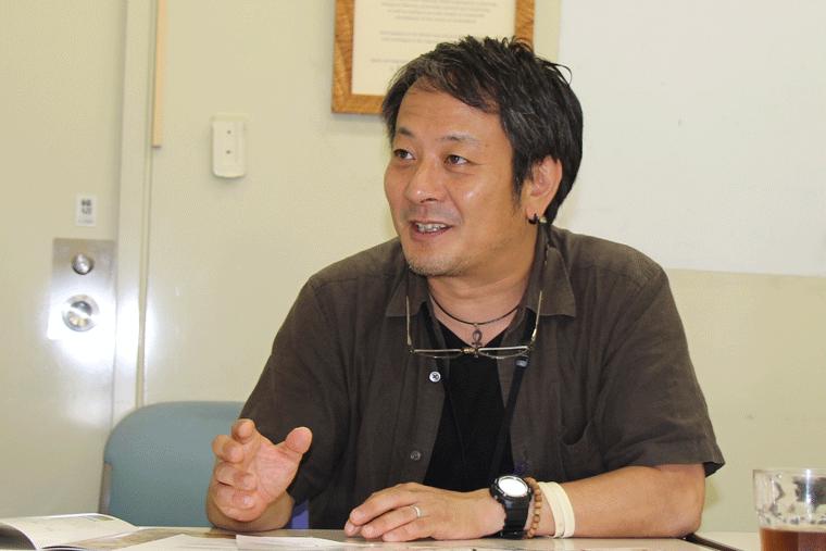 日本自然保護協会の辻村さん。