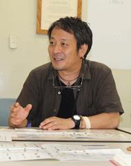 日本自然保護協会の辻村さん