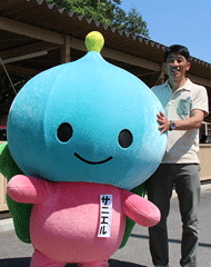 日本自然保護協会の出島さんとサニエル