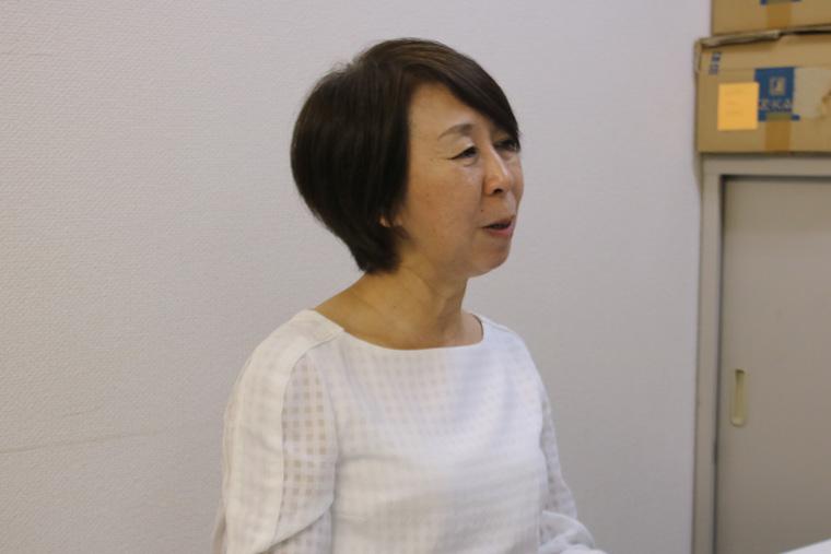 「子どもの貧困は自己責任ではない。まずは日本の貧困の現状を知ってほしい」という渡辺さん。
