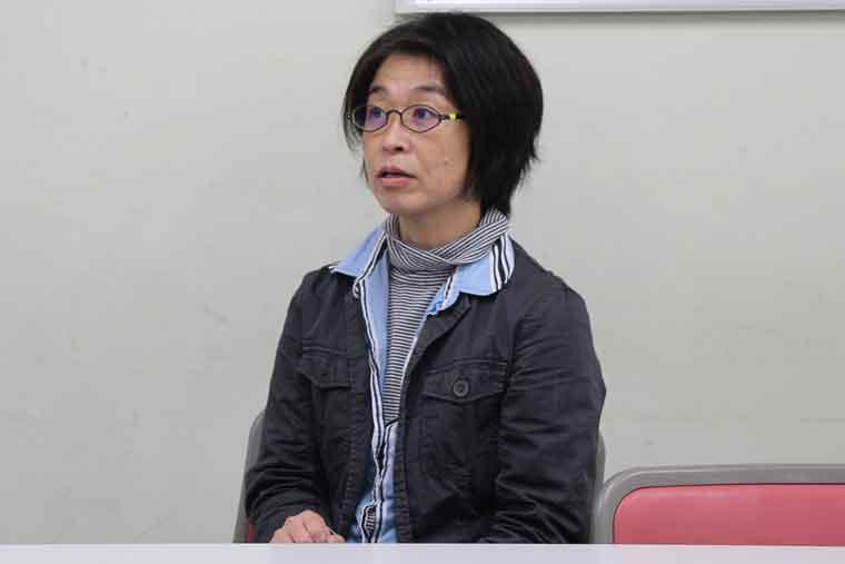 理事長の丸山さんの写真