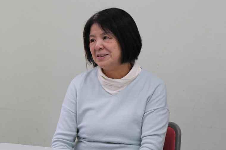 担当理事の辻さんの写真