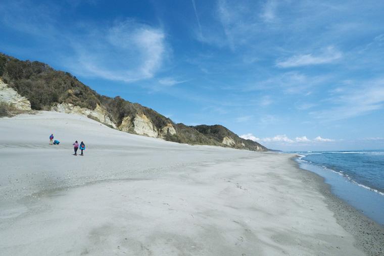 砂浜と海の写真